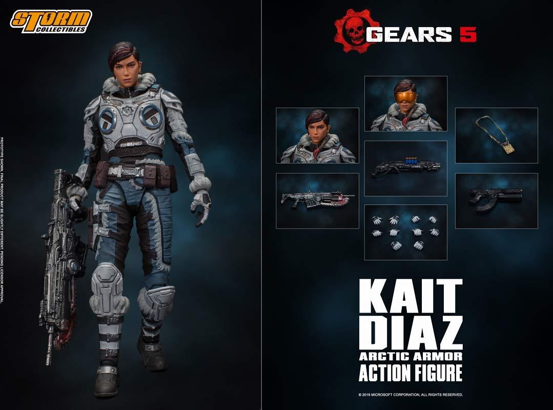 Gears 5(ギアーズ5)『ケイト・ディアス アーティックアーマー』可動フィギュア-011