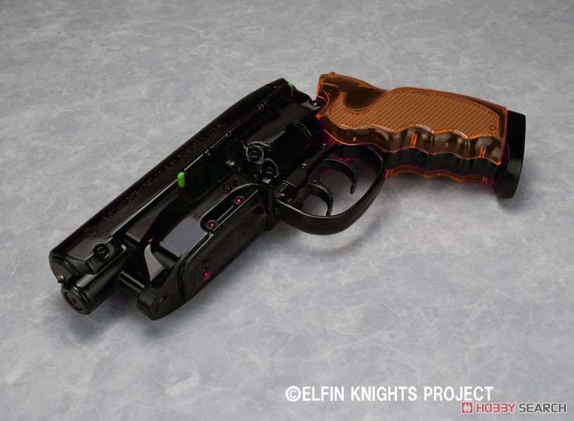 REAL FORM Water Gun 第7弾『高木型弐〇壱九年式爆水拳銃 Vol1.5 Last end スチールブラック』1/1 ウォーターガン-005