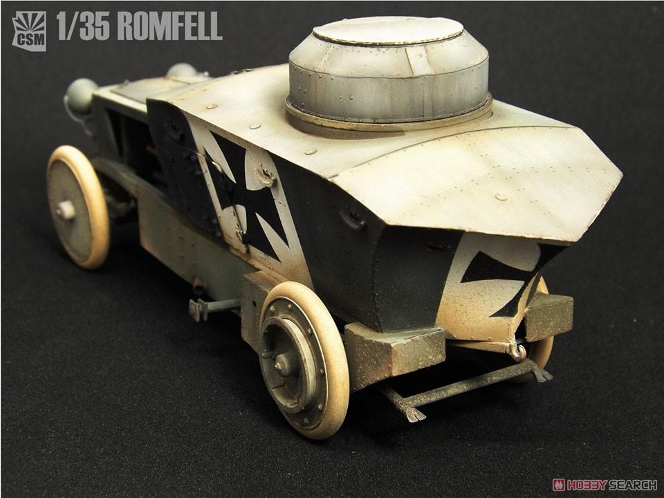 1/35『ロムフェル装甲車』プラモデル-005