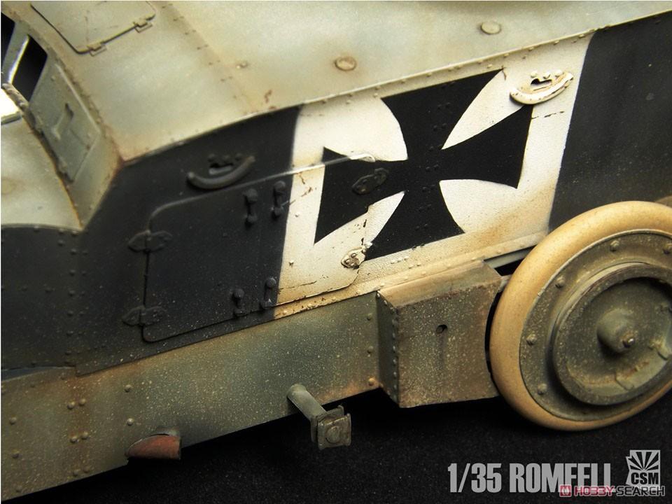 1/35『ロムフェル装甲車』プラモデル-006