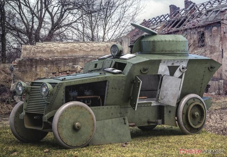 1/35『ロムフェル装甲車』プラモデル-015