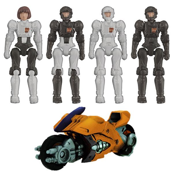 ダイアクロン『DA-41 女性隊員セット』可動フィギュア
