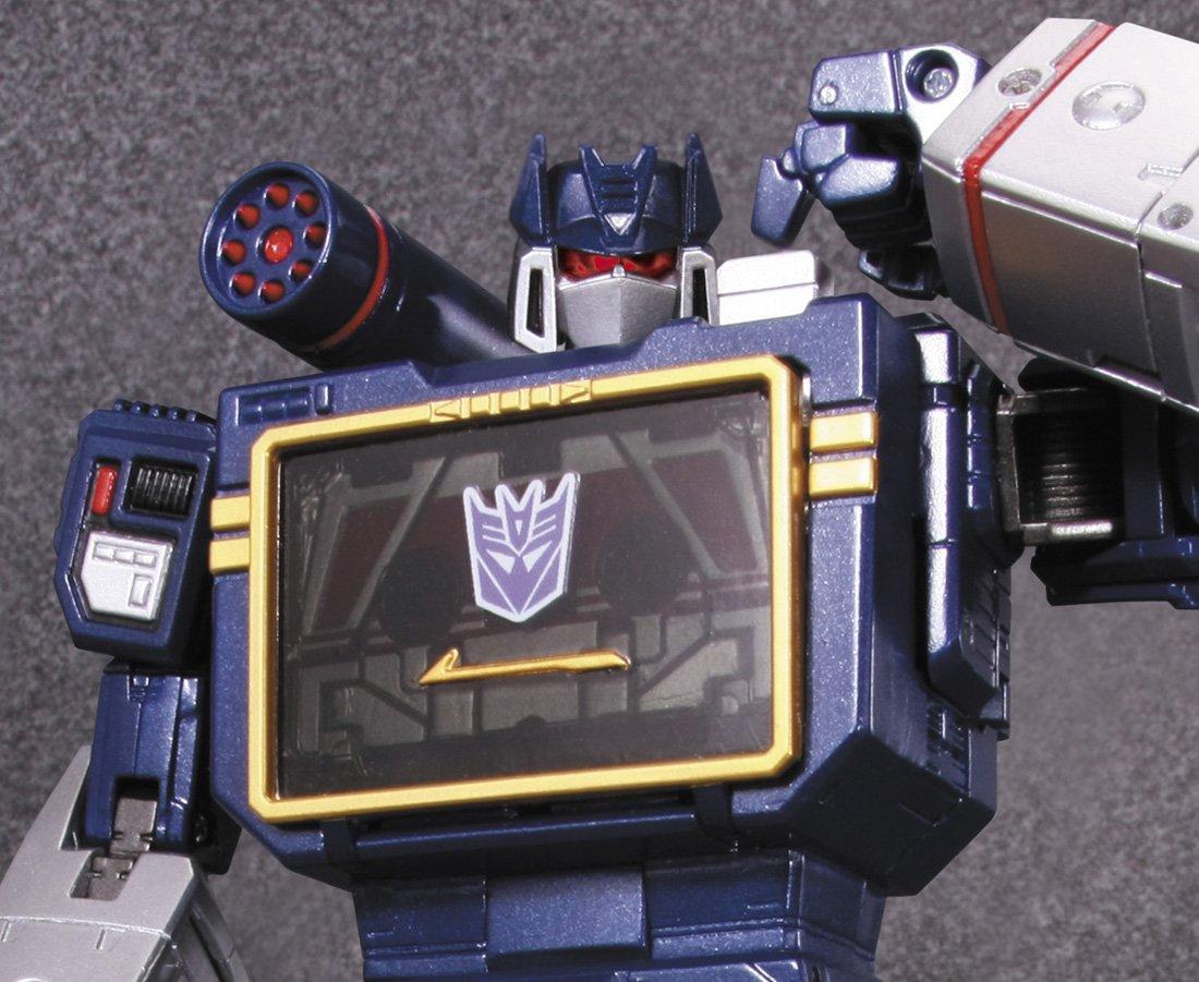 【再販】トランスフォーマー マスターピース『MP-13 サウンドウェーブ』可変可動フィギュア-009