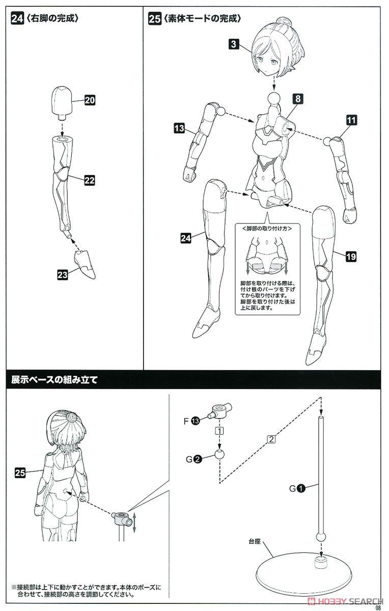 【再販】メガミデバイス『SOLホーネット』1/1 プラモデル-030