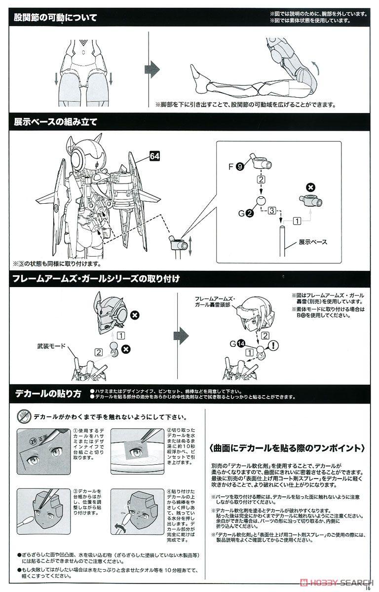 【再販】メガミデバイス『SOLホーネット』1/1 プラモデル-038