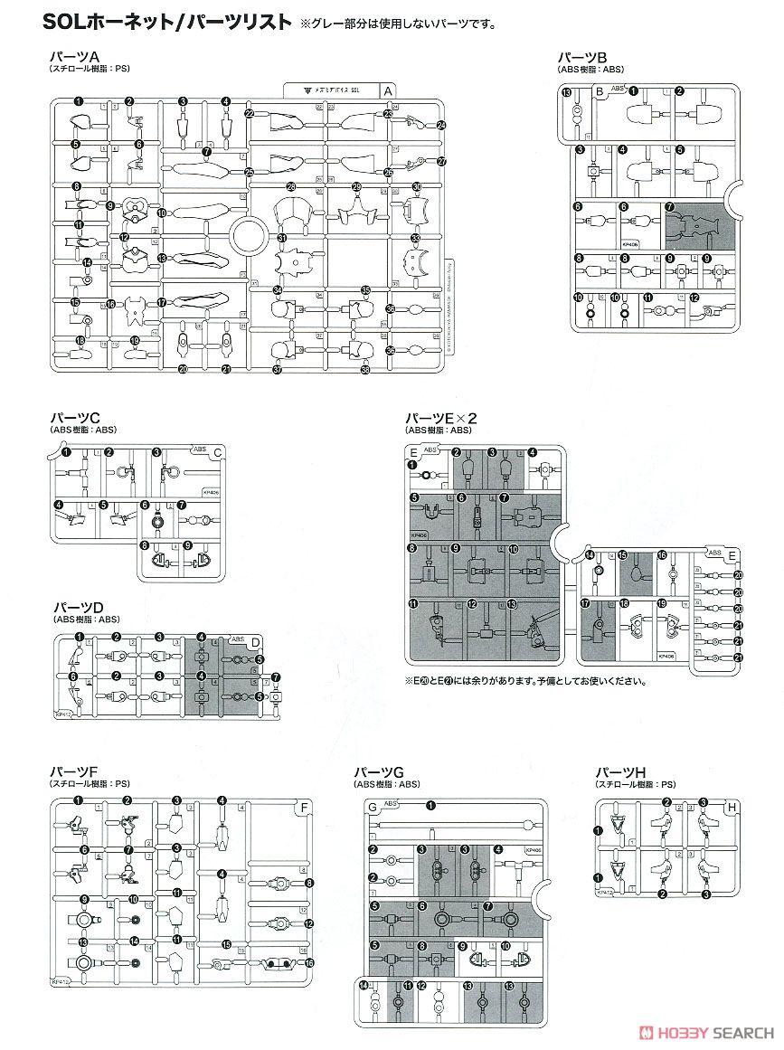 【再販】メガミデバイス『SOLホーネット』1/1 プラモデル-039