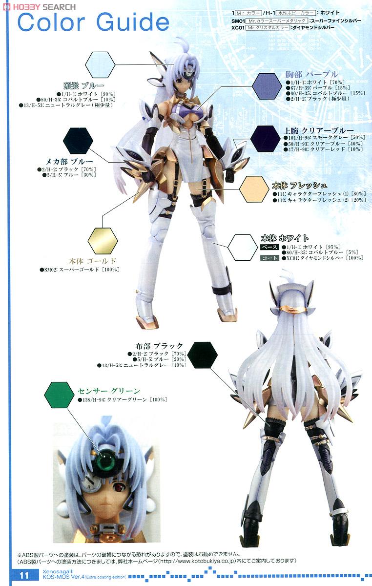 【再販】ゼノサーガIII『KOS-MOS(コスモス)Ver.4 エクストラコーティングエディション』1/12 プラモデル-029