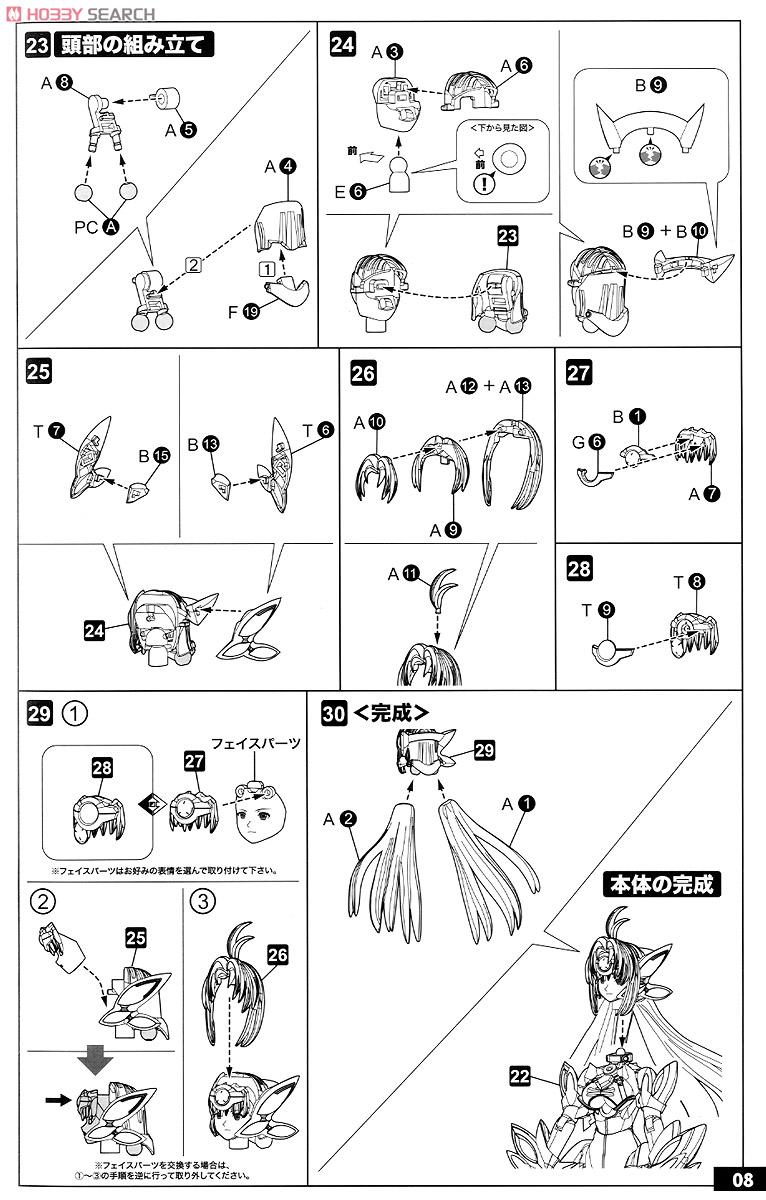 【再販】ゼノサーガIII『KOS-MOS(コスモス)Ver.4 エクストラコーティングエディション』1/12 プラモデル-035