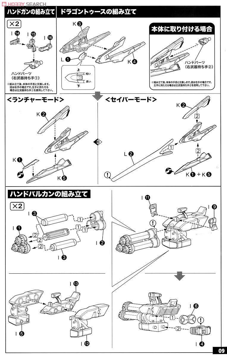 【再販】ゼノサーガIII『KOS-MOS(コスモス)Ver.4 エクストラコーティングエディション』1/12 プラモデル-036