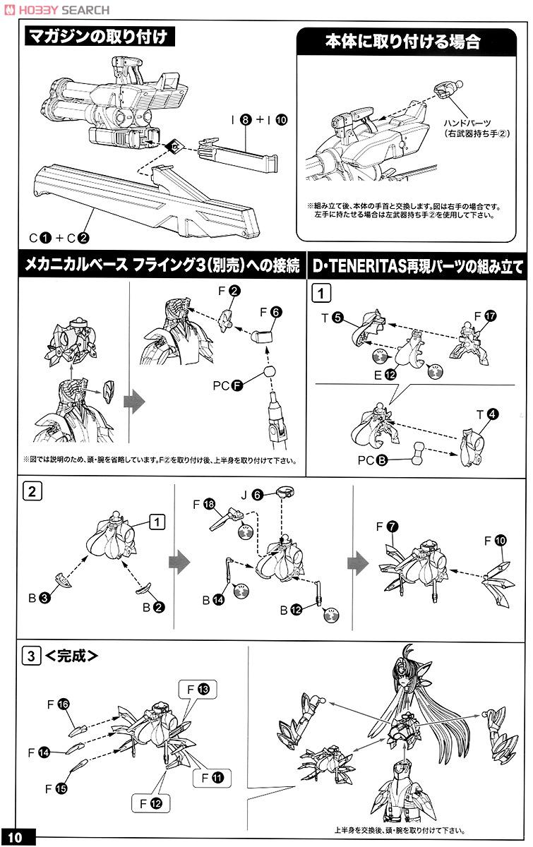 【再販】ゼノサーガIII『KOS-MOS(コスモス)Ver.4 エクストラコーティングエディション』1/12 プラモデル-037
