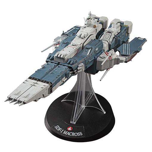 【再販】超時空要塞マクロス『SDF-1 マクロス要塞艦 w/プロメテウス&ダイダロス』1/4000 プラモデル