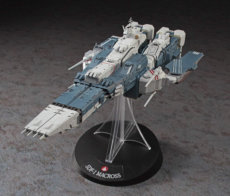 【再販】超時空要塞マクロス『SDF-1 マクロス要塞艦 w/プロメテウス&ダイダロス』1/4000 プラモデル-002