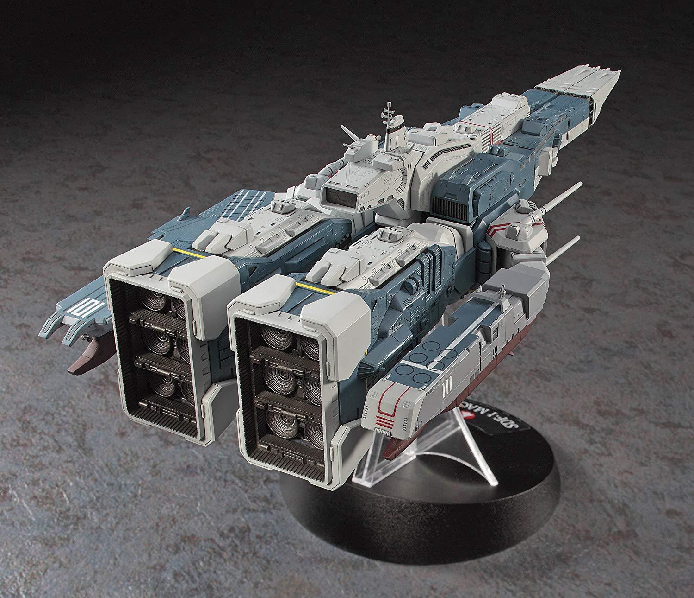 【再販】超時空要塞マクロス『SDF-1 マクロス要塞艦 w/プロメテウス&ダイダロス』1/4000 プラモデル-003