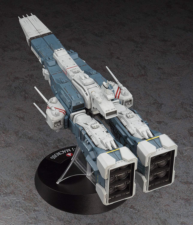 【再販】超時空要塞マクロス『SDF-1 マクロス要塞艦 w/プロメテウス&ダイダロス』1/4000 プラモデル-004