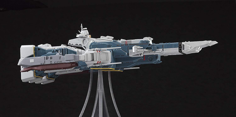 【再販】超時空要塞マクロス『SDF-1 マクロス要塞艦 w/プロメテウス&ダイダロス』1/4000 プラモデル-005