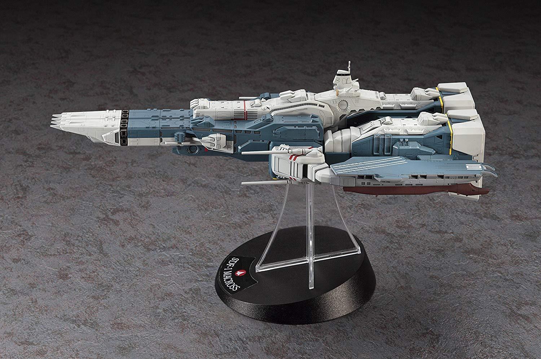【再販】超時空要塞マクロス『SDF-1 マクロス要塞艦 w/プロメテウス&ダイダロス』1/4000 プラモデル-006