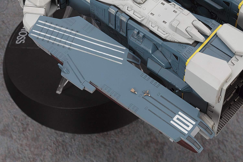 【再販】超時空要塞マクロス『SDF-1 マクロス要塞艦 w/プロメテウス&ダイダロス』1/4000 プラモデル-007
