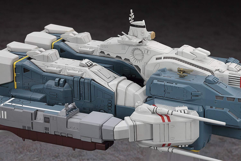 【再販】超時空要塞マクロス『SDF-1 マクロス要塞艦 w/プロメテウス&ダイダロス』1/4000 プラモデル-008