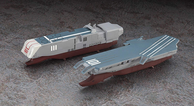 【再販】超時空要塞マクロス『SDF-1 マクロス要塞艦 w/プロメテウス&ダイダロス』1/4000 プラモデル-009