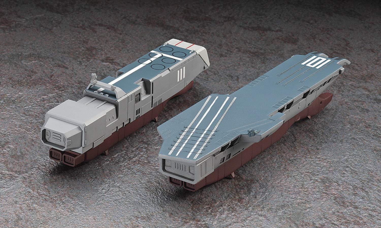 【再販】超時空要塞マクロス『SDF-1 マクロス要塞艦 w/プロメテウス&ダイダロス』1/4000 プラモデル-010