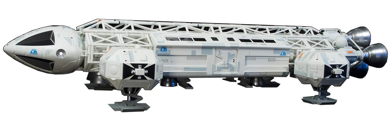 スペース1999『イーグル 2 トランスポーター』1/48 半完成塗装済みキット-003