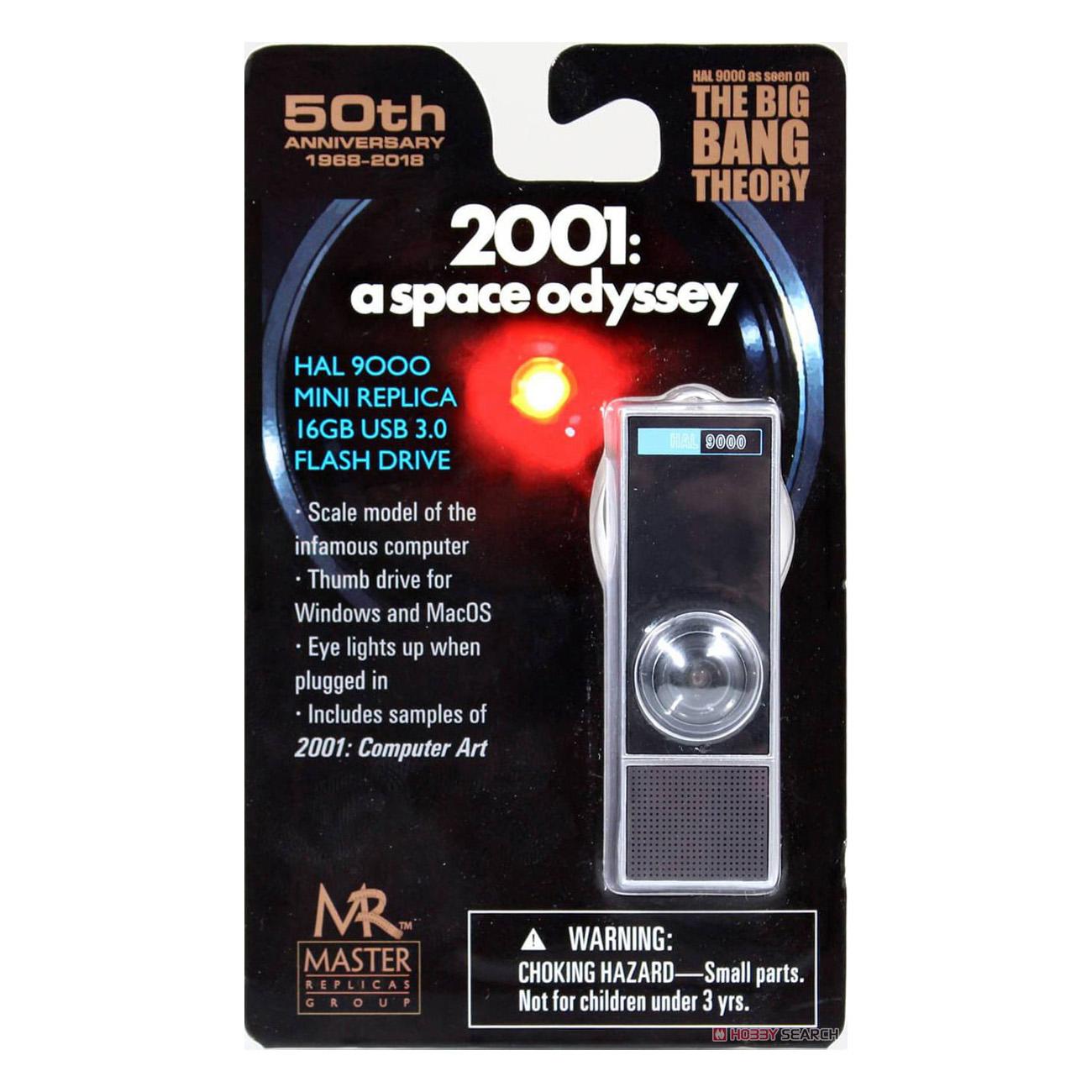 2001年宇宙の旅『HAL9000 MINI USB 3.0 フラッシュメモリー 16GB』1/6 USBメモリ-001