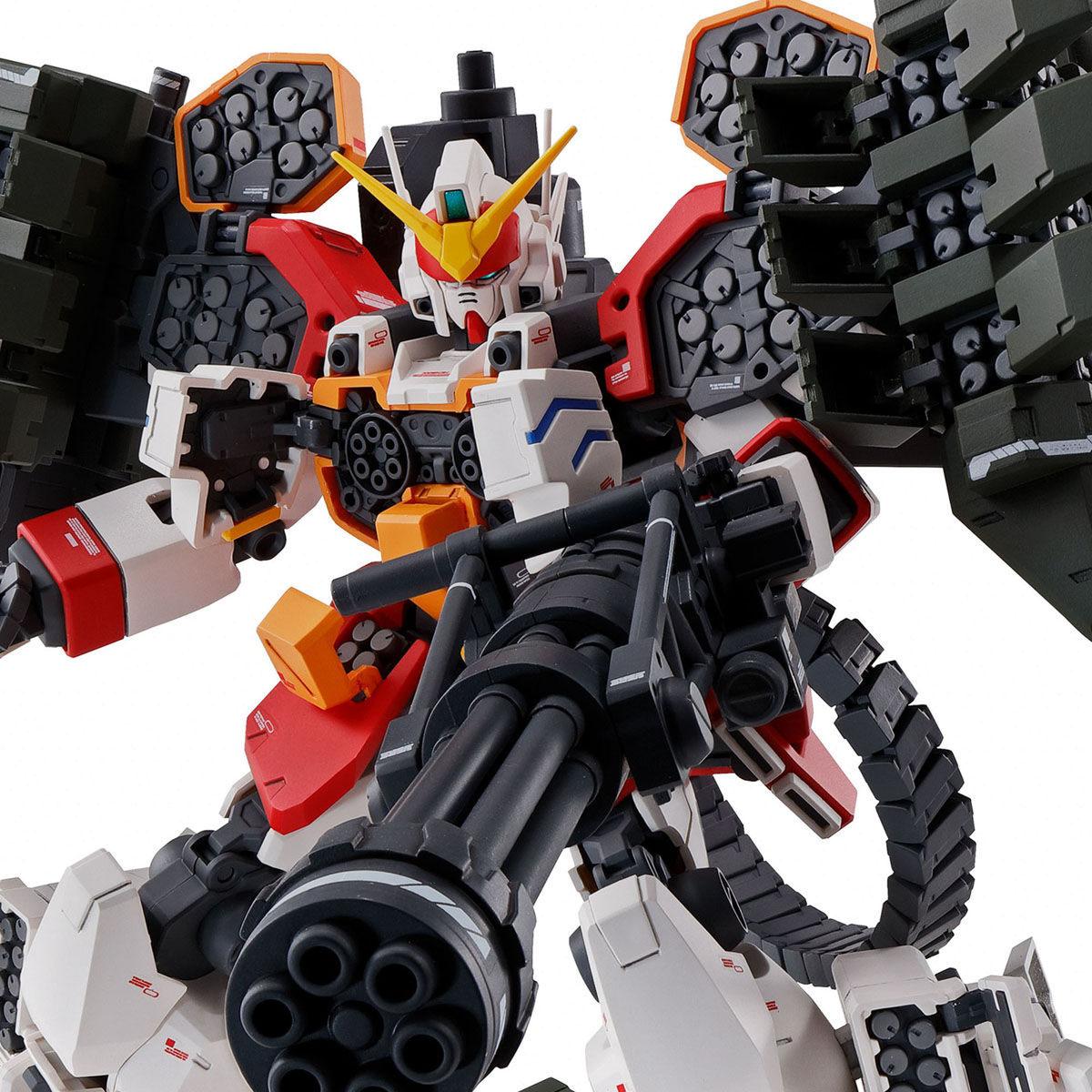 【限定販売】MG 1/100『ガンダムヘビーアームズ EW(イーゲル装備)』ガンダムW プラモデル-001