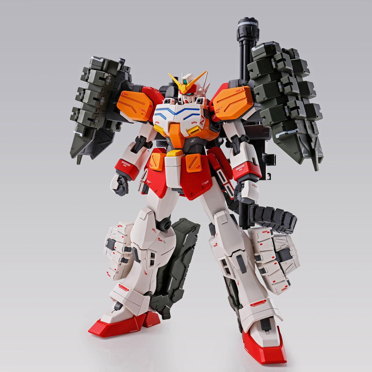 【限定販売】MG 1/100『ガンダムヘビーアームズ EW(イーゲル装備)』ガンダムW プラモデル-002