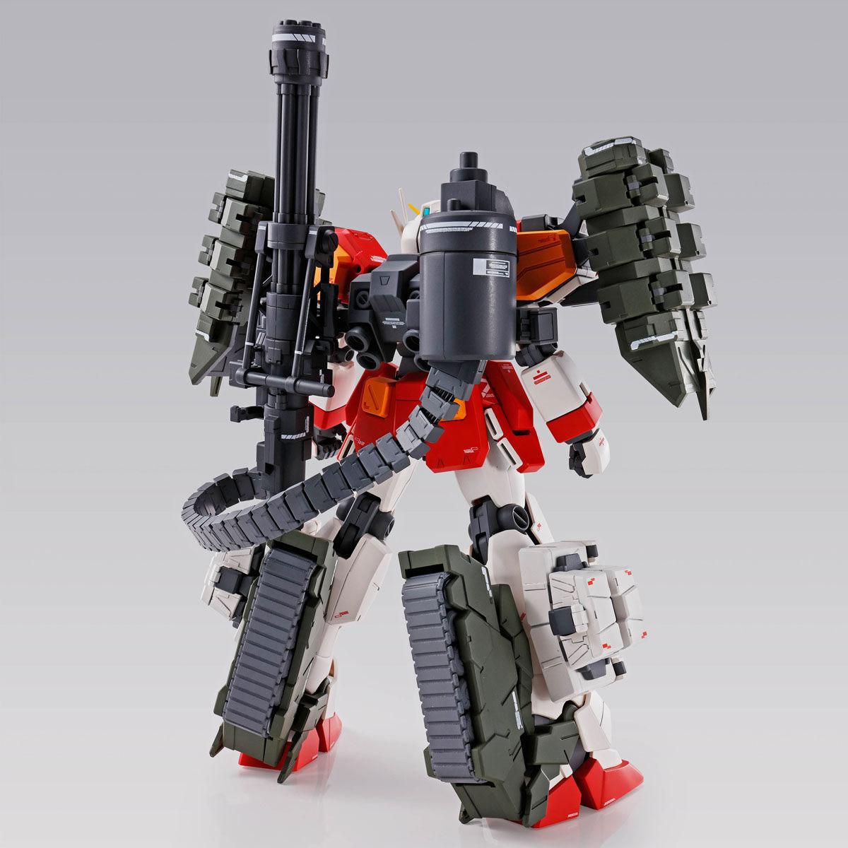 【限定販売】MG 1/100『ガンダムヘビーアームズ EW(イーゲル装備)』ガンダムW プラモデル-003
