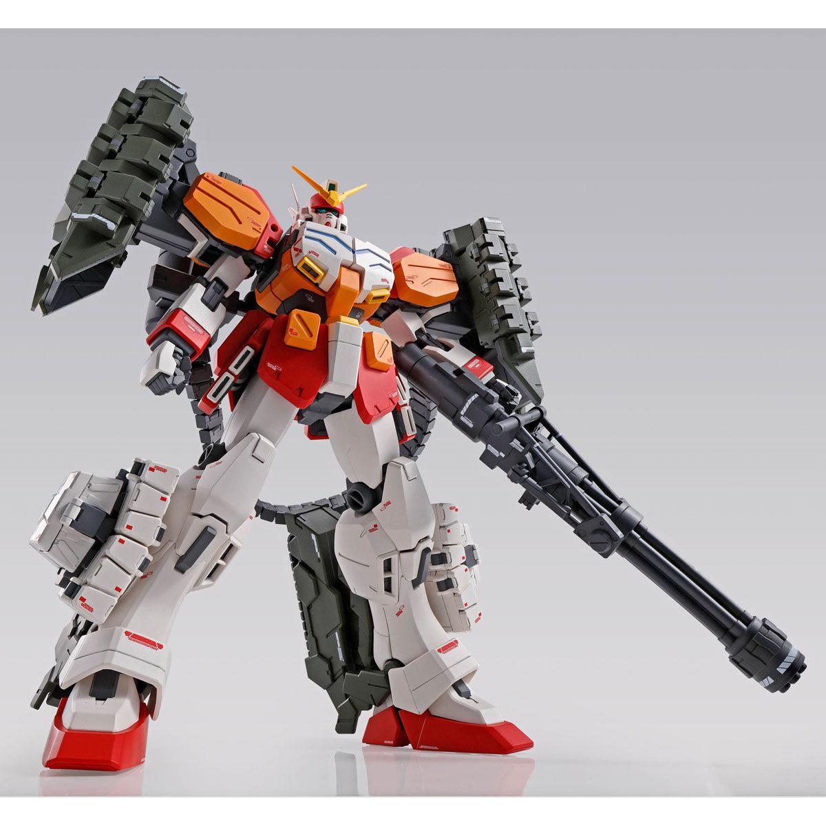 【限定販売】MG 1/100『ガンダムヘビーアームズ EW(イーゲル装備)』ガンダムW プラモデル-004