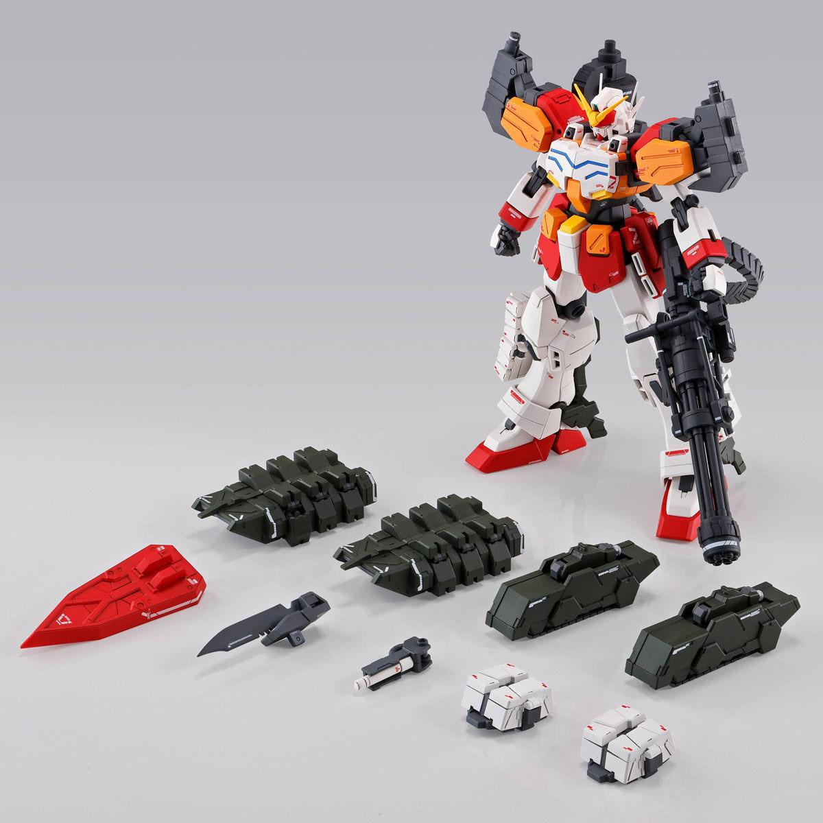 【限定販売】MG 1/100『ガンダムヘビーアームズ EW(イーゲル装備)』ガンダムW プラモデル-008