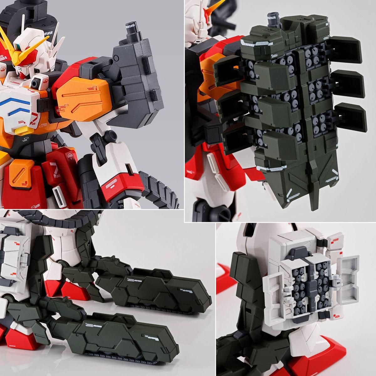 【限定販売】MG 1/100『ガンダムヘビーアームズ EW(イーゲル装備)』ガンダムW プラモデル-009