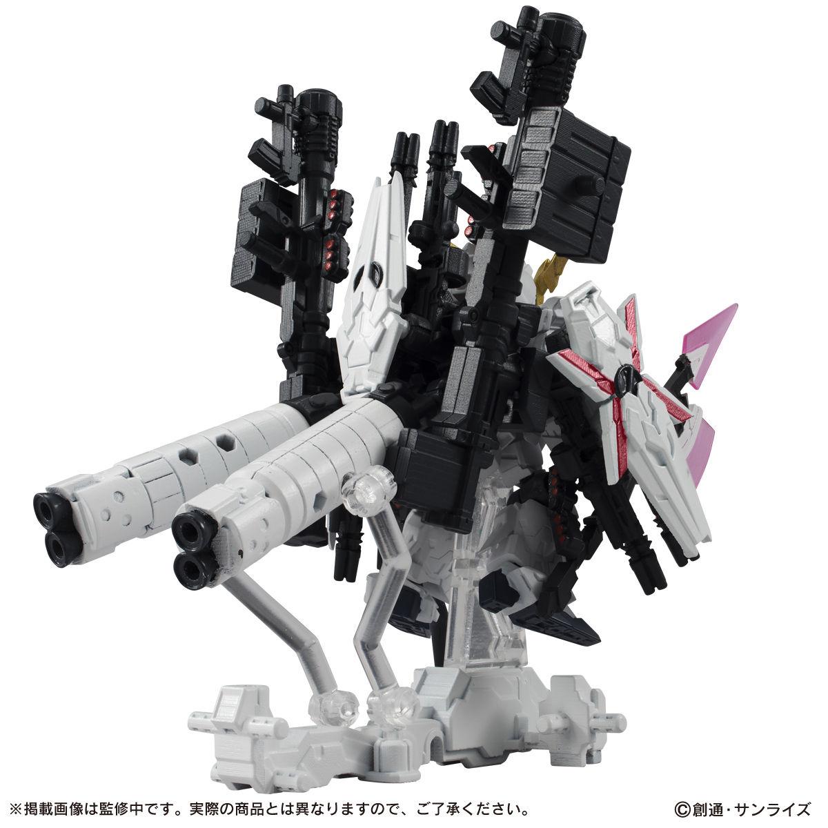 【限定販売】MOBILE SUIT ENSEMBLE『EX13 フルアーマー・ユニコーン(REDver.)』ガンダムUC デフォルメフィギュア-006
