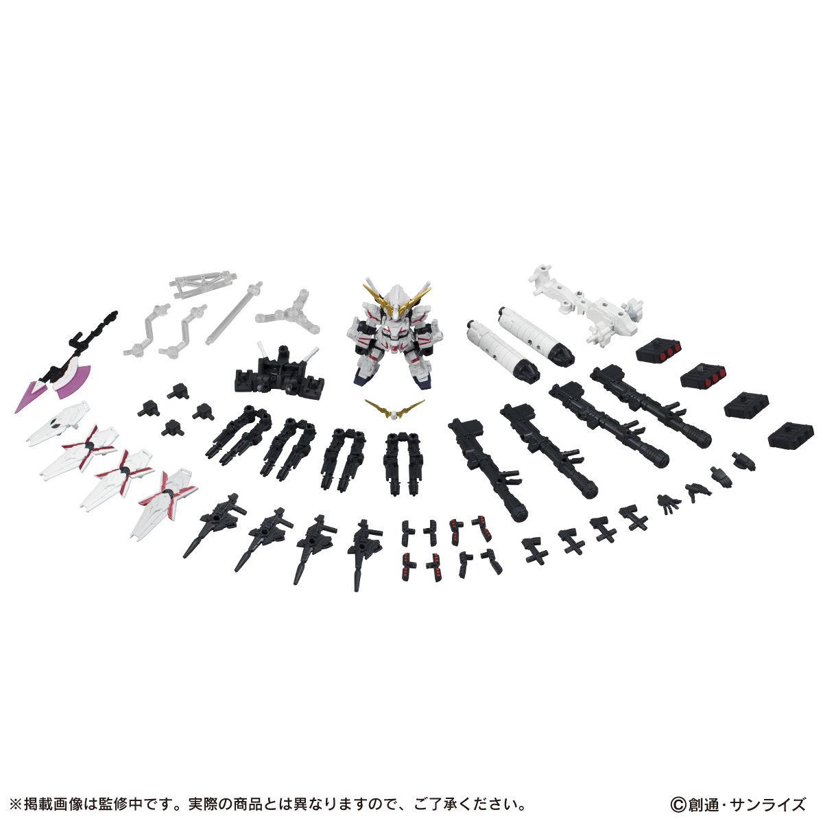【限定販売】MOBILE SUIT ENSEMBLE『EX13 フルアーマー・ユニコーン(REDver.)』ガンダムUC デフォルメフィギュア-008