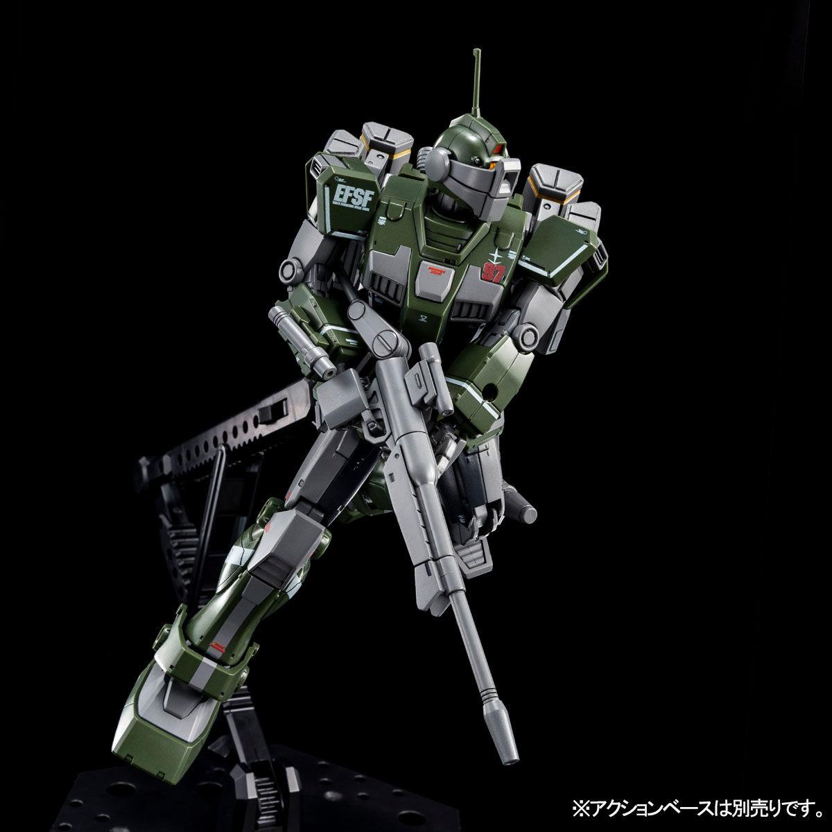 【限定販売】HG 1/144『ジム・スナイパーカスタム(ミサイル・ランチャー装備)』プラモデル-005