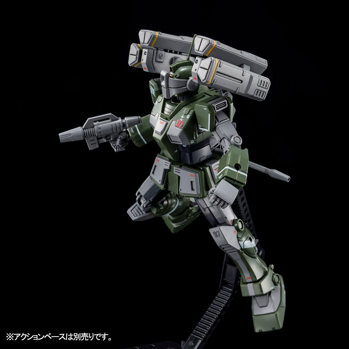 【限定販売】HG 1/144『ジム・スナイパーカスタム(ミサイル・ランチャー装備)』プラモデル-006