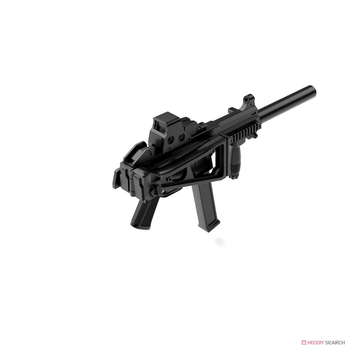 リトルアーモリー LADF02『ドールズフロントラインUMP45タイプ』1/12 プラモデル-003