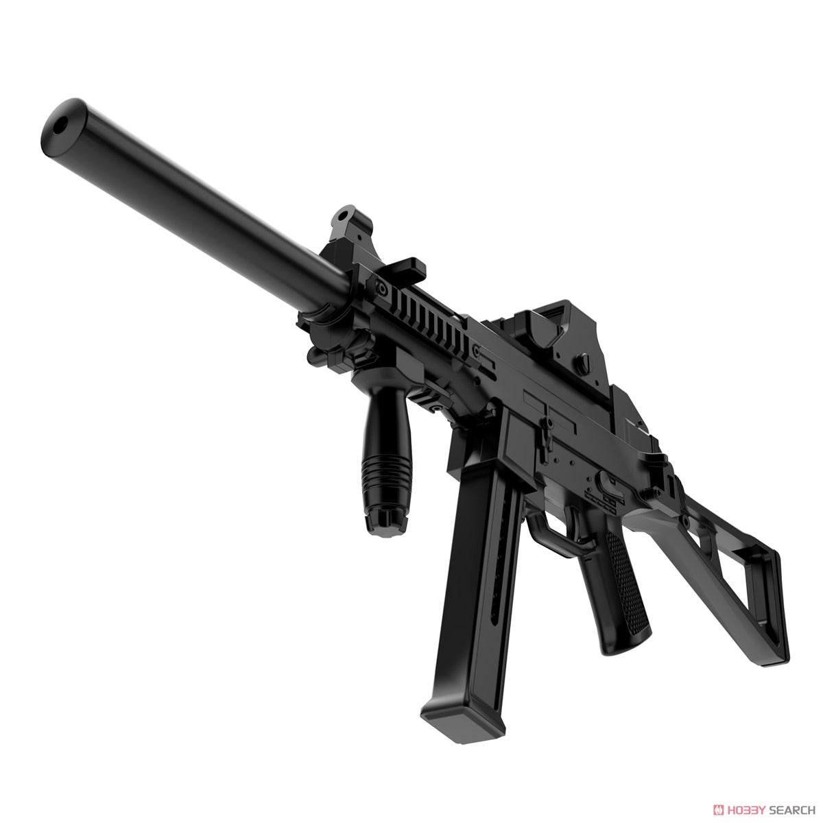 リトルアーモリー LADF02『ドールズフロントラインUMP45タイプ』1/12 プラモデル-005