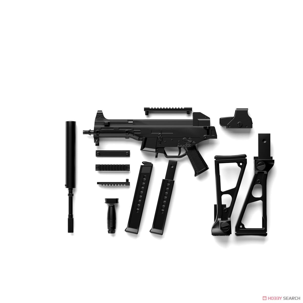 リトルアーモリー LADF02『ドールズフロントラインUMP45タイプ』1/12 プラモデル-008