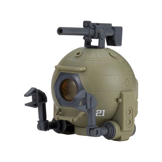 【ガシャポン】機動戦士ガンダム『カプキャラ ボール1』組み立てフィギュア-001