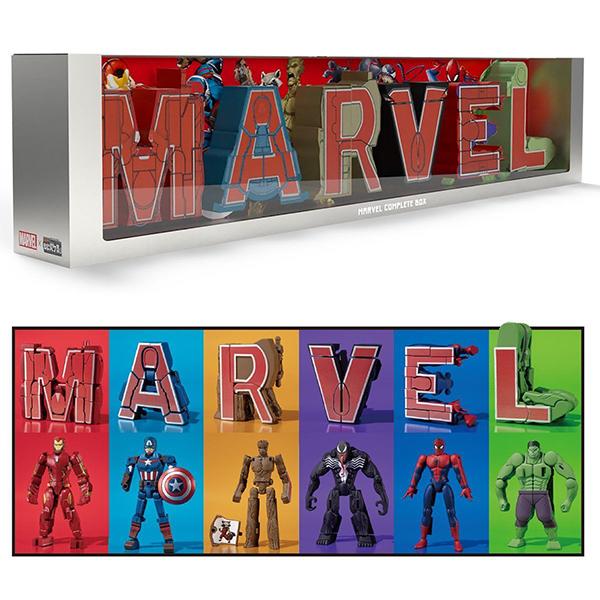 【食玩】超変換!!もじバケる『MARVEL Complete Box』セット