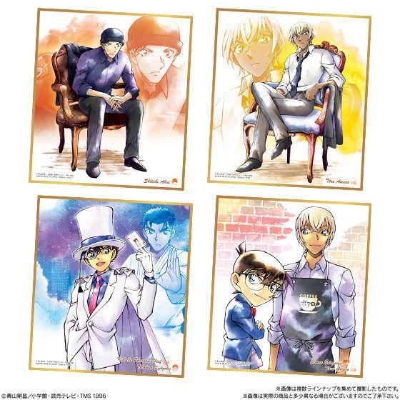 【食玩】『名探偵コナン色紙ART3』10個入りBOX-004