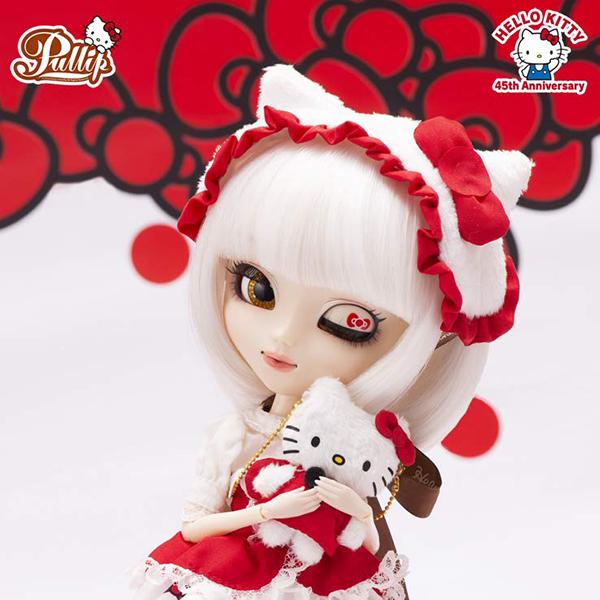プーリップ Pullip『Hello Kitty★Pullip45th Anniversary ver.(ハローキティ 45th アニバーサリーバージョン)』完成品ドール
