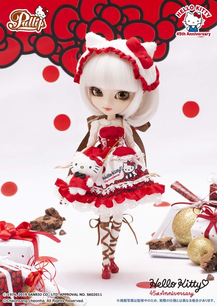 プーリップ Pullip『Hello Kitty★Pullip45th Anniversary ver.(ハローキティ 45th アニバーサリーバージョン)』完成品ドール-002