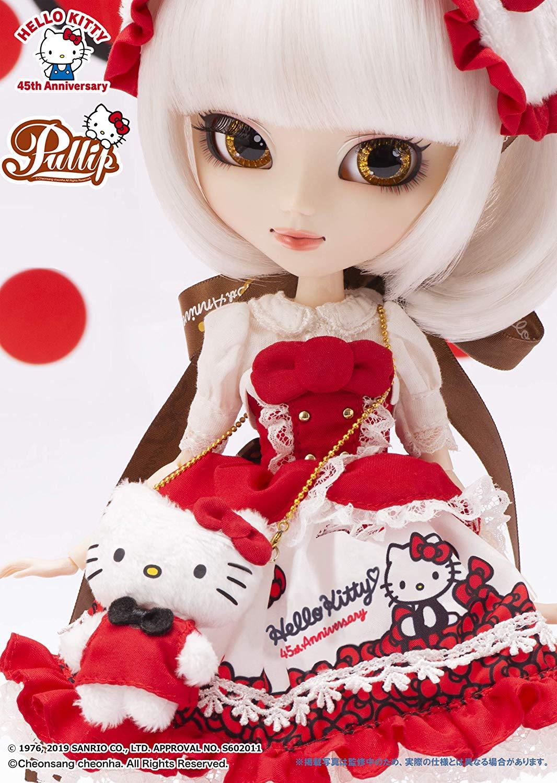 プーリップ Pullip『Hello Kitty★Pullip45th Anniversary ver.(ハローキティ 45th アニバーサリーバージョン)』完成品ドール-004