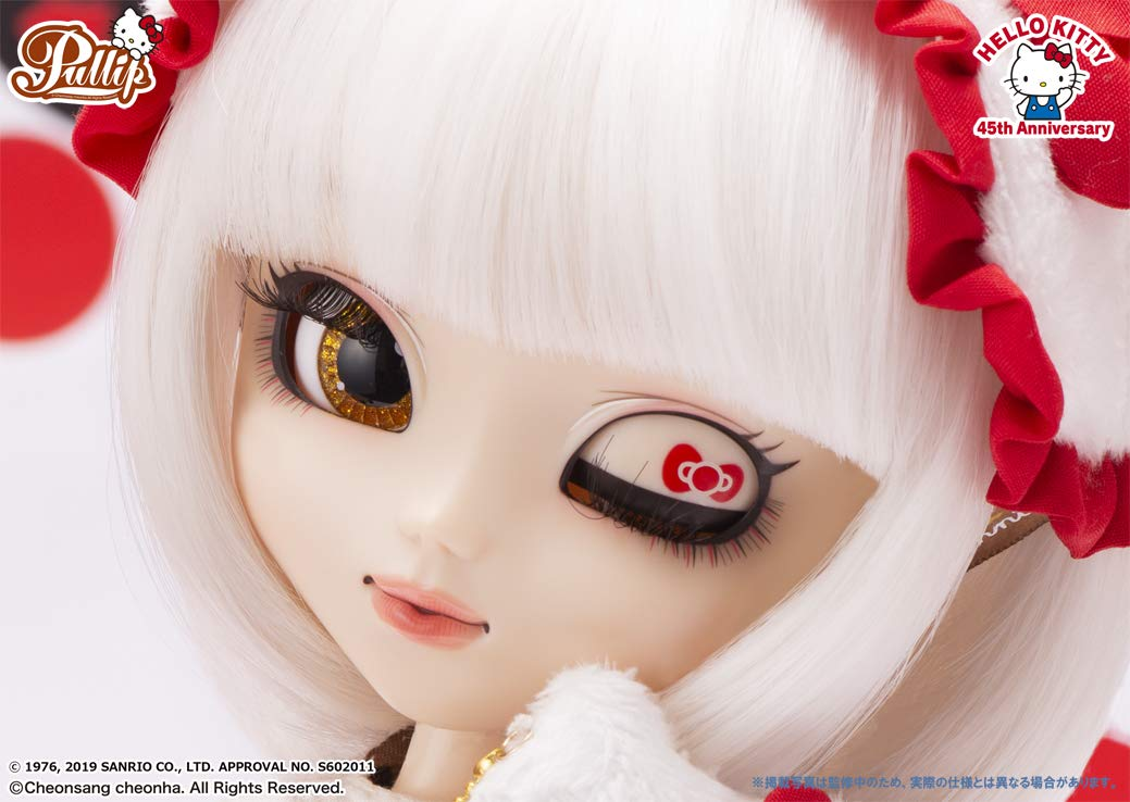 プーリップ Pullip『Hello Kitty★Pullip45th Anniversary ver.(ハローキティ 45th アニバーサリーバージョン)』完成品ドール-008