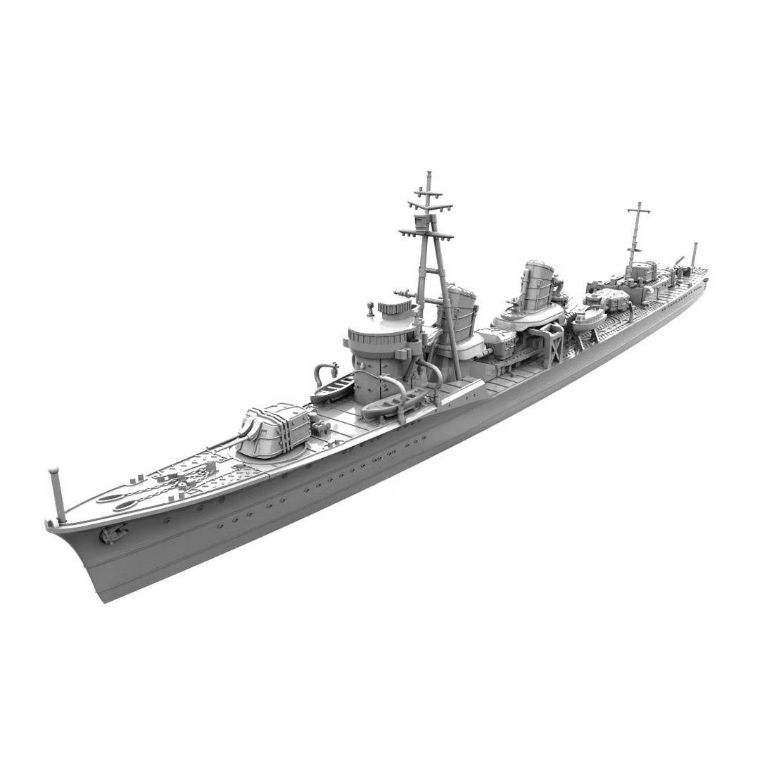 1/700 艦艇模型シリーズ『特型駆逐艦I型改 浦波』プラモデル-001