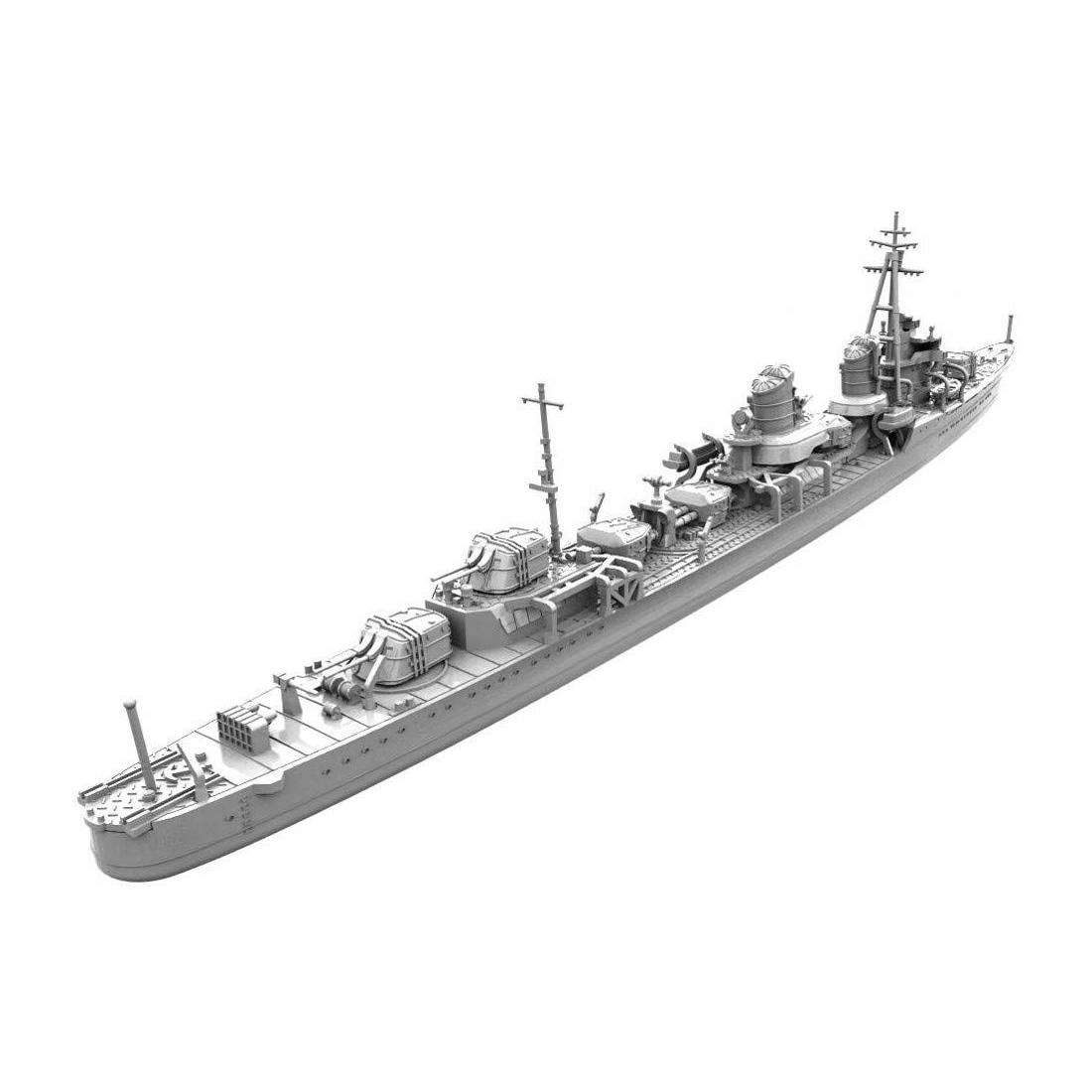 1/700 艦艇模型シリーズ『特型駆逐艦I型改 浦波』プラモデル-002