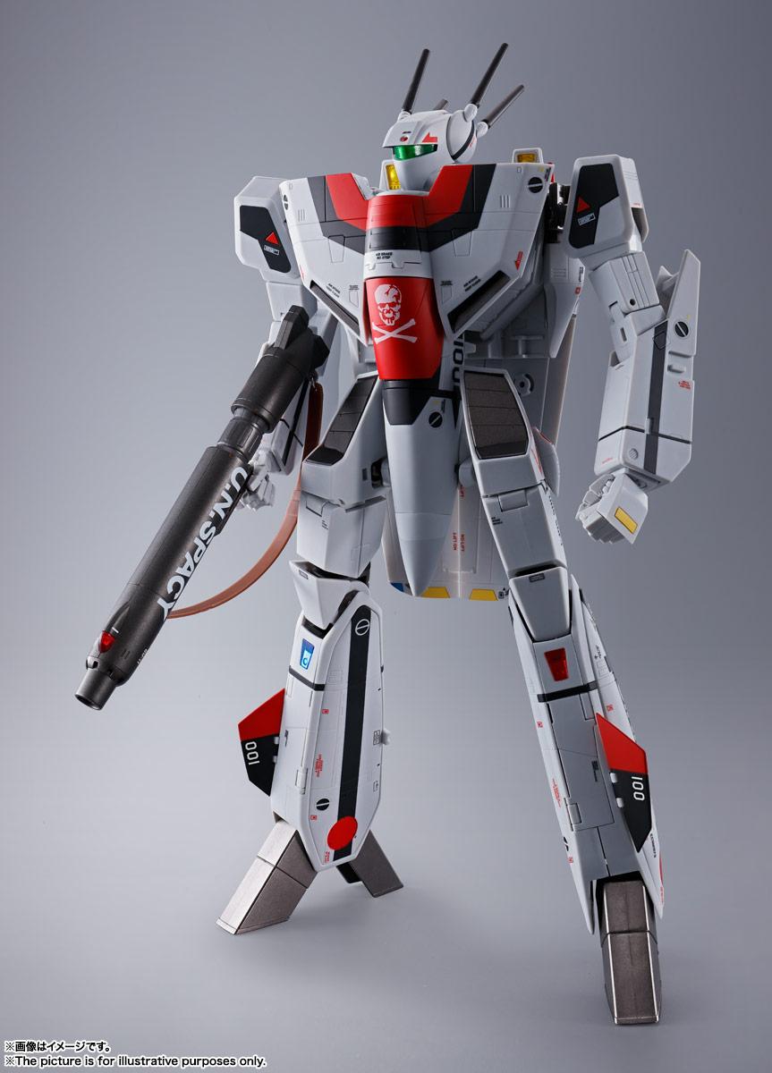DX超合金『劇場版VF-1S バルキリー(一条輝機)』超時空要塞マクロス 可変可動フィギュア-002