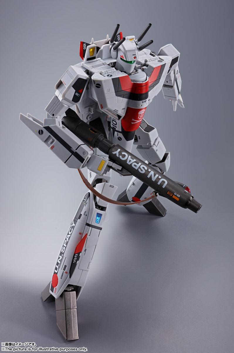 DX超合金『劇場版VF-1S バルキリー(一条輝機)』超時空要塞マクロス 可変可動フィギュア-003